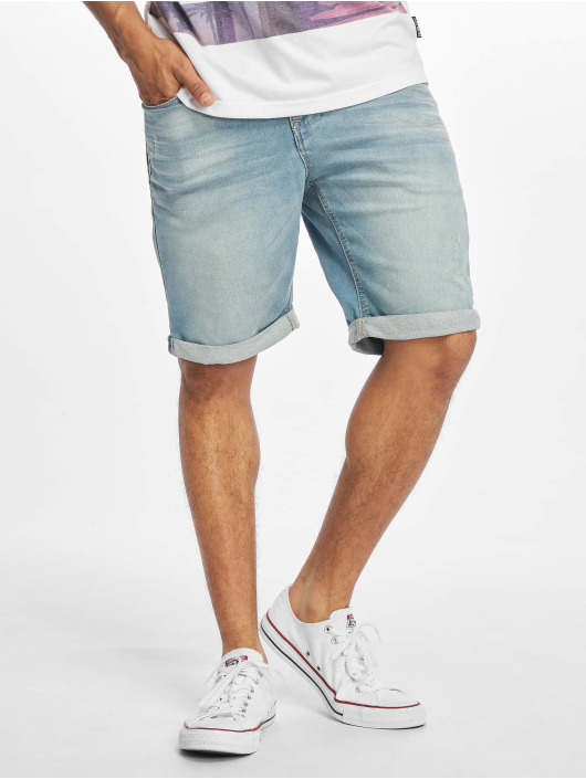 Sublevel shorts Denim Bermuda blauw