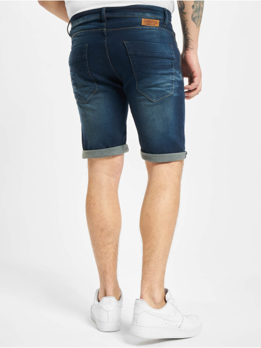 Sublevel shorts 5-Pocket Bermuda blauw