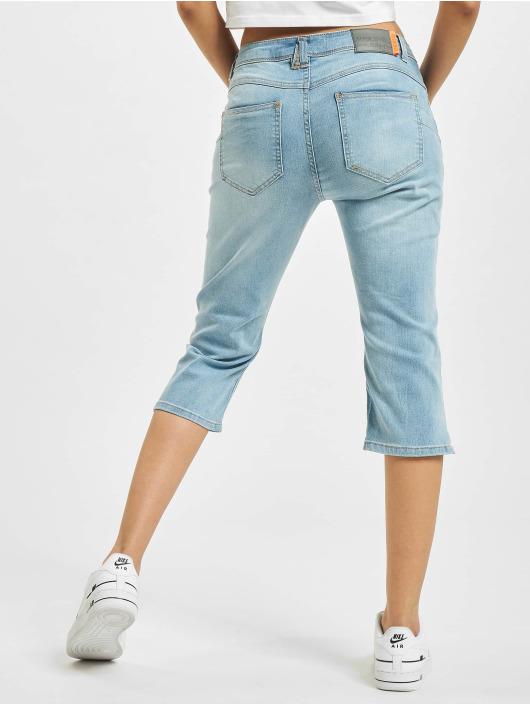 Sublevel shorts Capri Push Up blauw