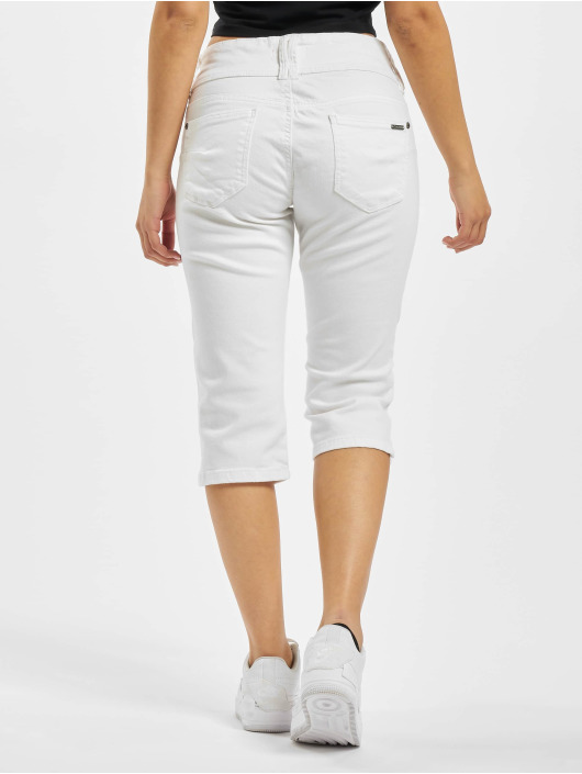 Sublevel Shorts Capri hvid