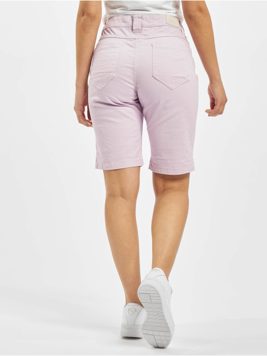 Sublevel shorts Bermuda paars