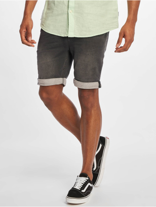Sublevel Shorts Denim Bermuda svart