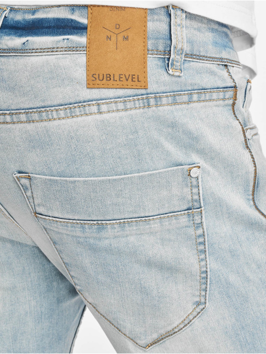 Sublevel Skinny Jeans 5-Pocket blau