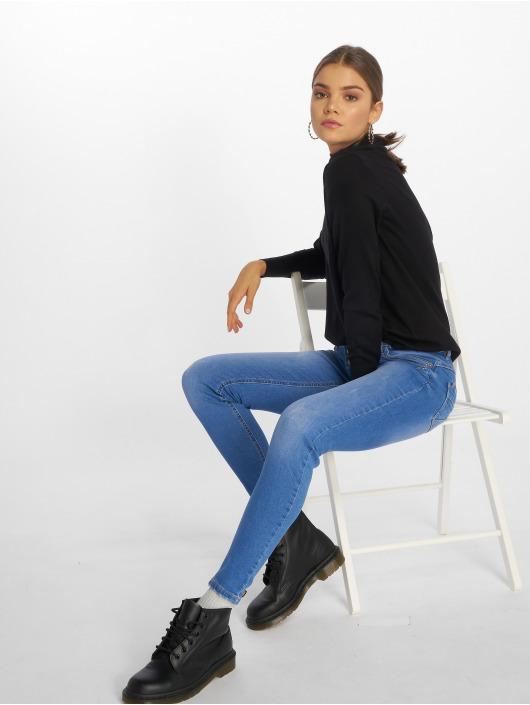 Sublevel Skinny Jeans Denim modrý