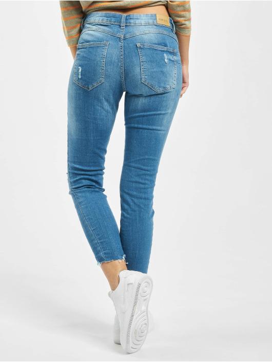 Sublevel Skinny Jeans 5-Pocket modrý