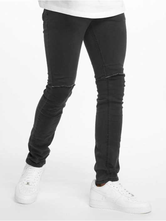Sublevel Skinny Jeans Haka 5-Pocket Skinny schwarz