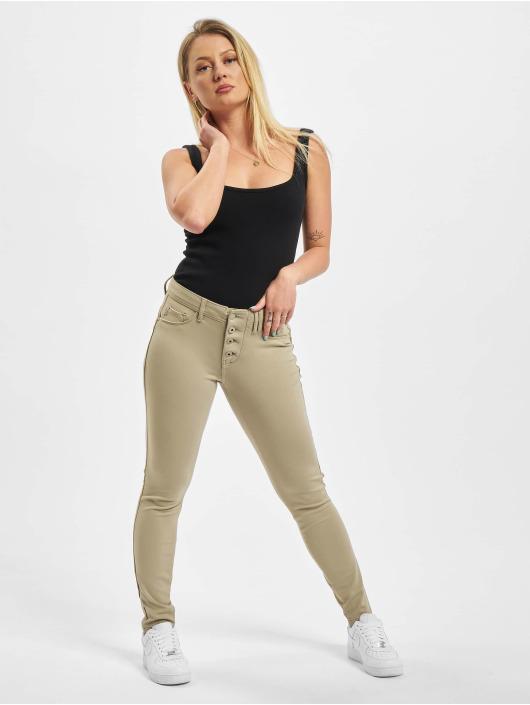 Sublevel Skinny Jeans Udela zielony