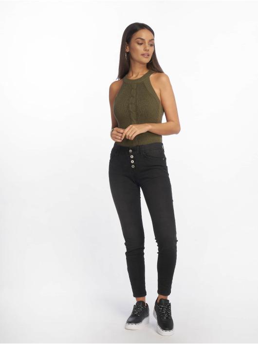 Sublevel Skinny jeans Denim zwart