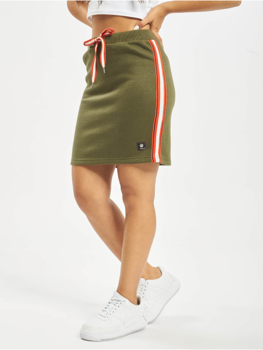 Sublevel Skirt Stripes green