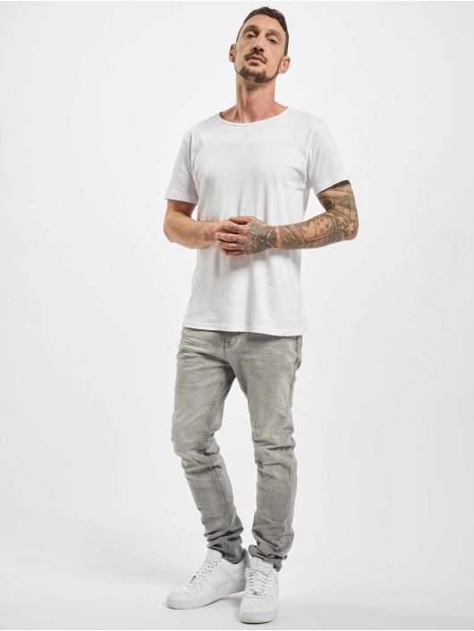 Sublevel Slim Fit Jeans Class серый