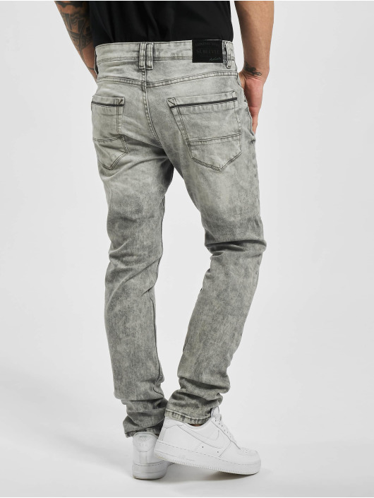 Sublevel Slim Fit Jeans Ken grau