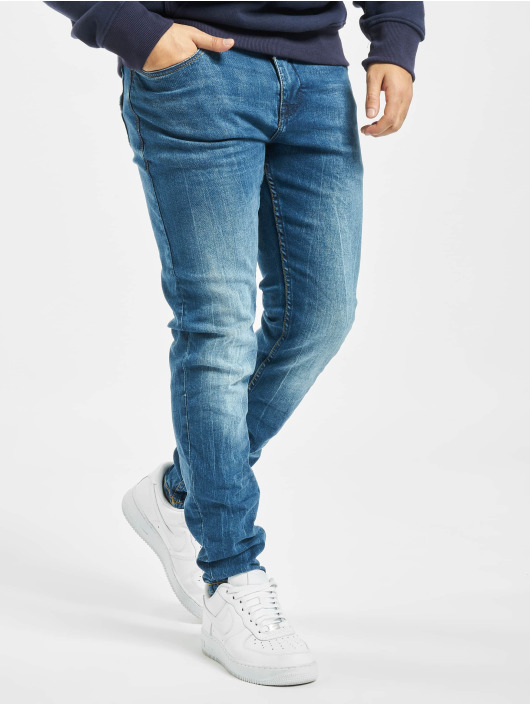 Sublevel Slim Fit Jeans D212 modrá