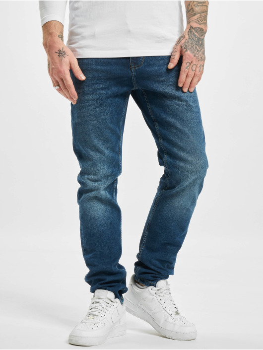 Sublevel Slim Fit Jeans Class modrá