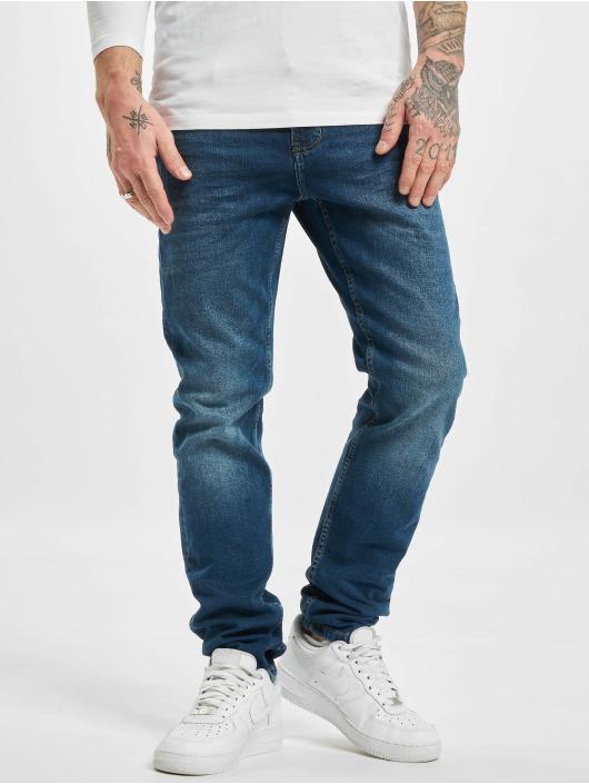 Sublevel Slim Fit Jeans Class modrá