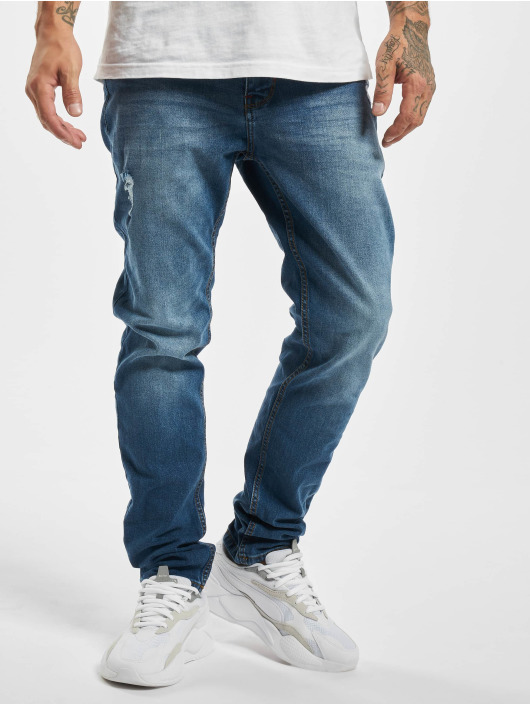 Sublevel Slim Fit Jeans Loys modrá