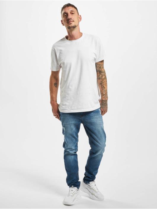 Sublevel Slim Fit Jeans Loys modrý