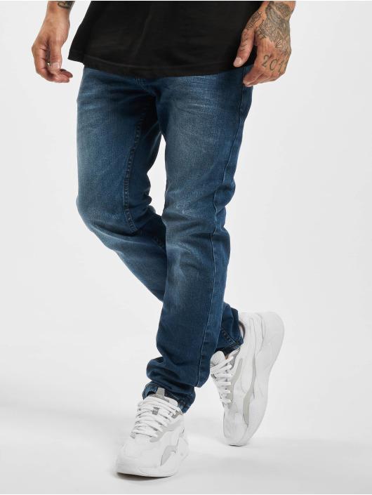 Sublevel Slim Fit Jeans Pero modrý