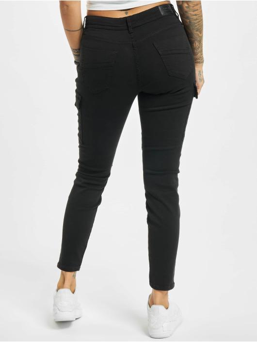 Sublevel Spodnie Chino/Cargo Jess czarny
