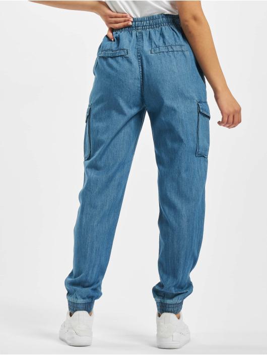 Sublevel Spodnie Chino/Cargo Gina niebieski