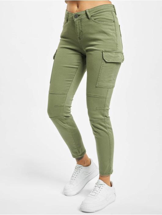 Sublevel Spodnie Chino/Cargo Jess oliwkowy