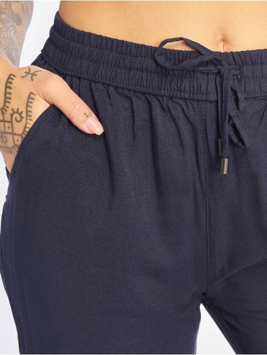 Sublevel Spodnie wizytowe Viskose Pants niebieski