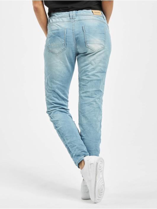 Sublevel Spodnie wizytowe Denim niebieski