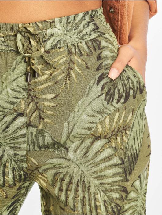 Sublevel Spodnie wizytowe Viskose zielony