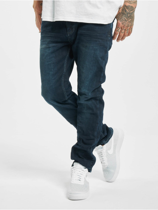 Sublevel Straight Fit Jeans Fade blå