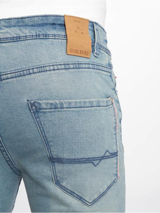 Sublevel Straight Fit Jeans Denim modrý