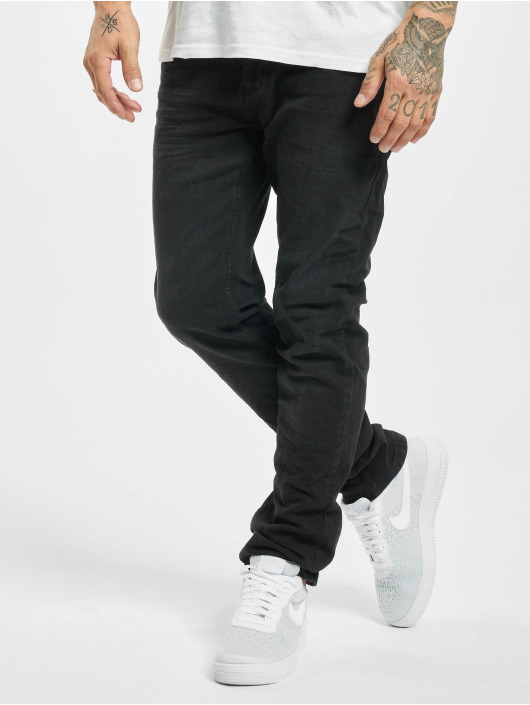 Sublevel Straight Fit Jeans Fade schwarz