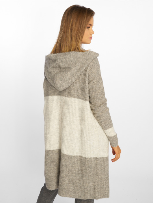 Sublevel Strickjacke Block grau