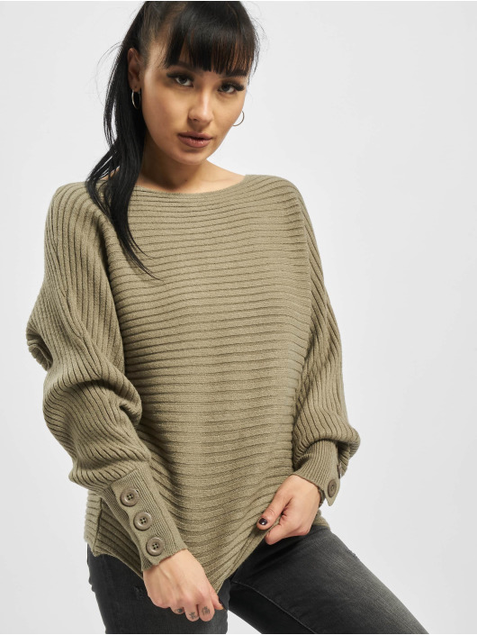 Sublevel Sweat & Pull Mandy Knit olive