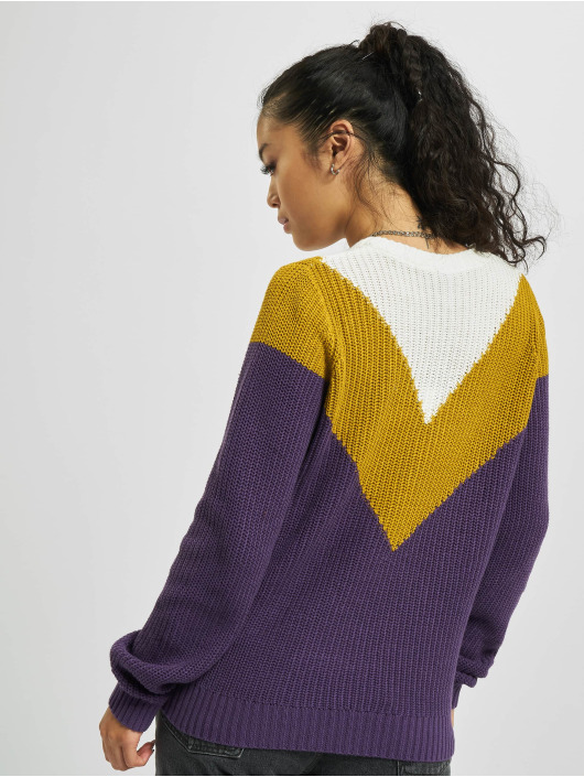 Sublevel Sweat & Pull Knit pourpre