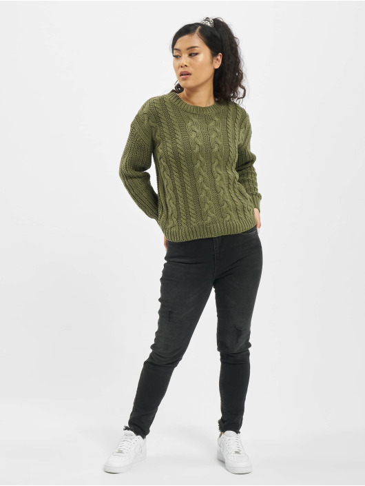 Sublevel Sweat & Pull Knit vert