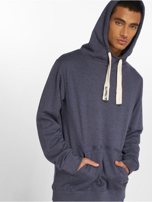 Sublevel Sweat capuche Washed bleu