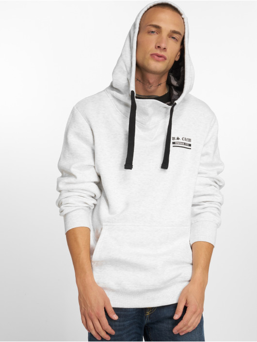 Sublevel Sweat capuche US Crew gris