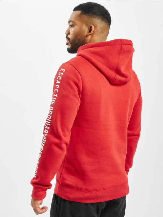 Sublevel Sweat capuche Box rouge