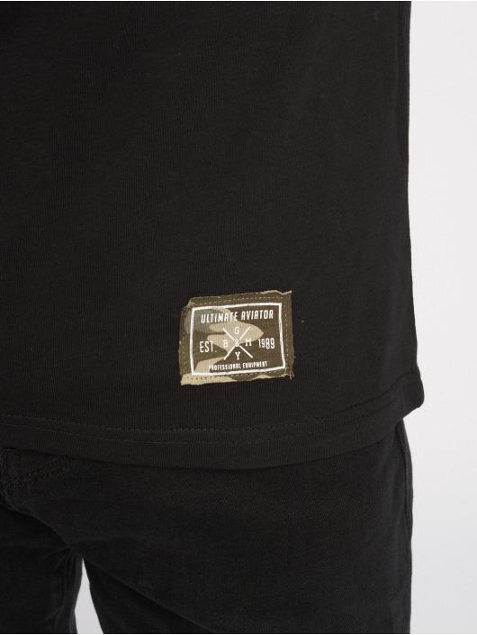 Sublevel T-paidat Camo musta