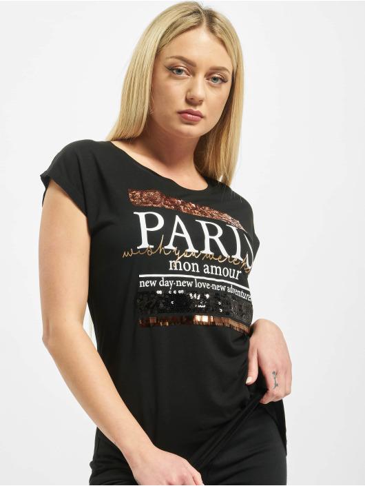 Sublevel T-paidat Paris musta