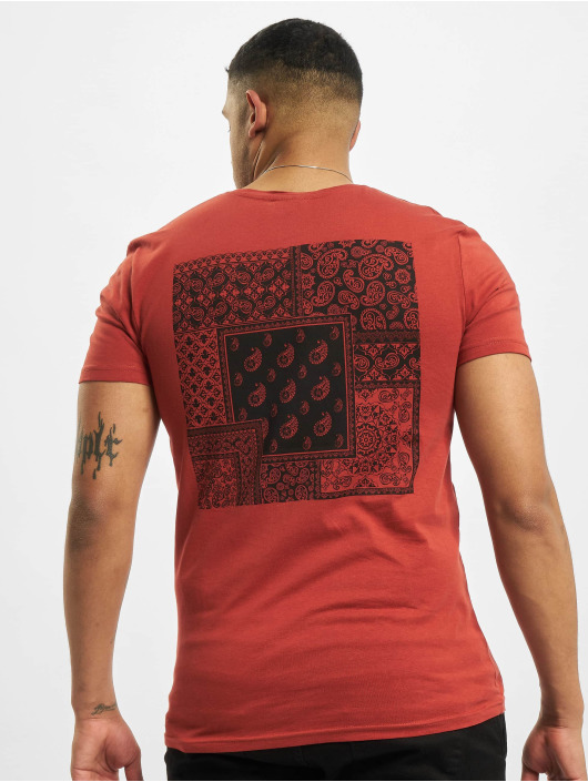 Sublevel T-paidat Paisley punainen