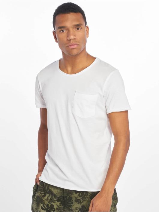 Sublevel T-paidat Good Vibes valkoinen
