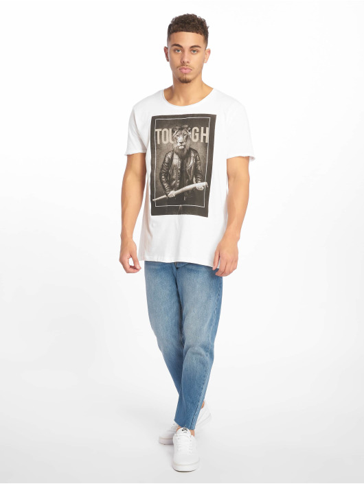 Sublevel T-shirt Tough bianco