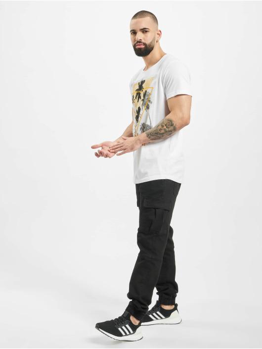 Sublevel T-shirt Enjoy bianco