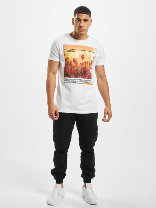Sublevel T-shirt Downtown bianco