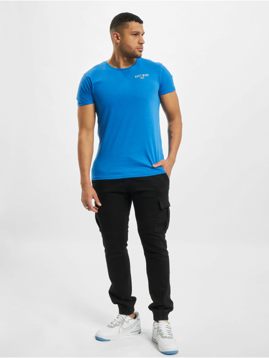 Sublevel T-shirt Easy Mind blå