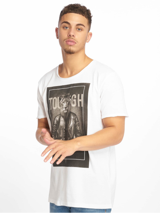Sublevel T-Shirt Tough blanc