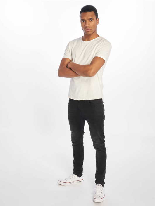 Sublevel T-Shirt Raglan blanc