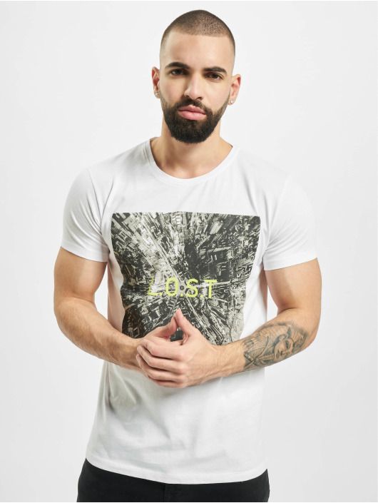 Sublevel T-Shirt Graphic blanc