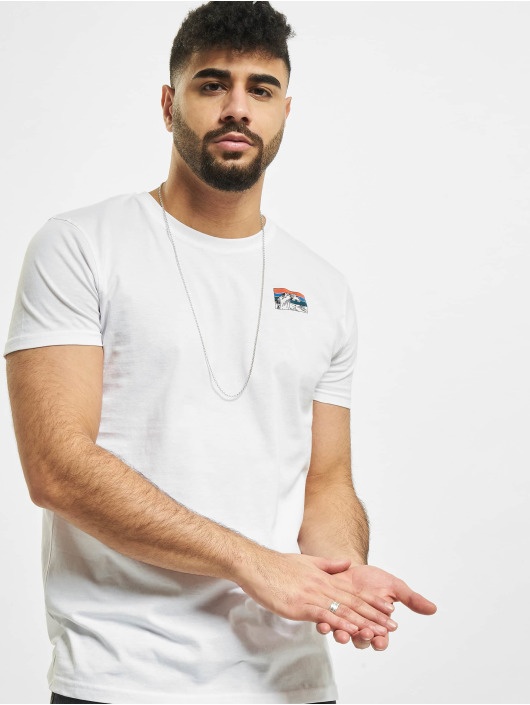 Sublevel T-Shirt Catch The Waves blanc