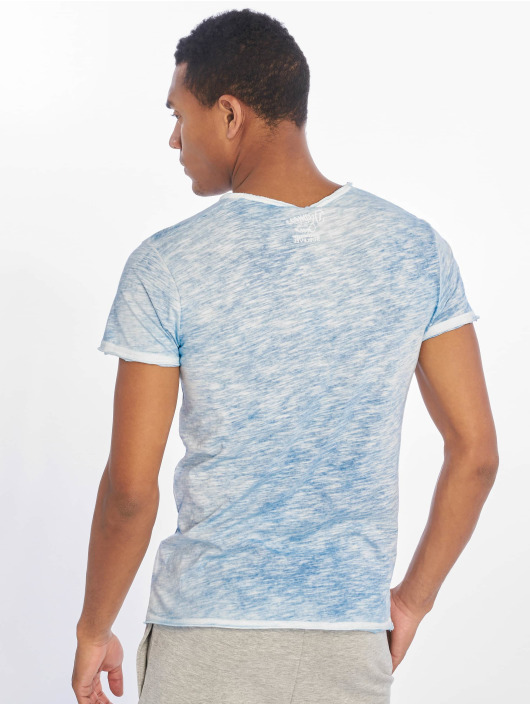 Sublevel T-Shirt Flecked blau